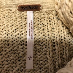 Comfy cute oatmeal sweater with cozy cowl neck.